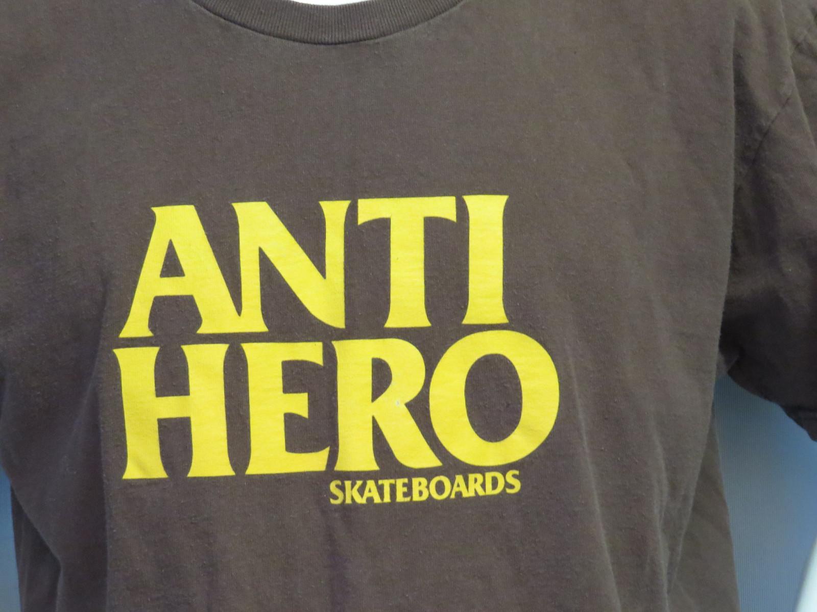 Retro Anti Hero Skateboard Shirt Script And 22 Similar Items