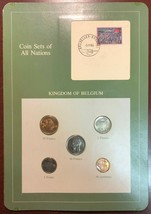 Coin Sets of All Nations - Kingdom of Belgium 5-Coin Set - Mint Condition - $7.76