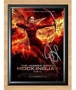 Katniss Everdeen Jennifer Lawrence Hunger Games 2 Signed Poster A3 A3_1596 - $14.95