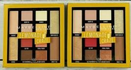 2 Maybelline Eyeshadow Palette Lemonade Craze Summer Shades Coral Punch Sherbet - $16.12