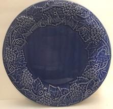 "Grape Cobalt by BORDALLO PINHEIRO 14"" Chop Plate - $45.53"