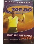 Billy Blanks - Tae Bo : Fat Blasting Cardio (DVD) Entrenamientos Taebo - $11.51