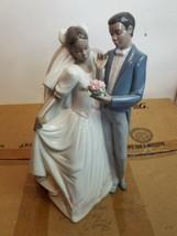 "~*~LLADRO WEDDING FIGURINE ""THE HAPPIEST DAY"" RETIRED & RARE #1336 ~*~ - $272.25"