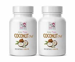 Coconut Oil Benefits for Skin - Coconut Oil 1000mg - Energy Booster and ... - $28.66