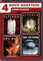4 Movie Marathon: Horror Collection (Slither/Altered/Cry_Wolf/The Return) DVD