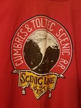 Vtg Cumbres & Toltec T-Shirt Mens XXL 2XL 50-52 Scenic Line of the West ... - $25.22