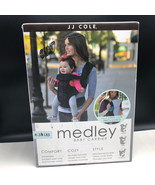 MEDLEY BABY CARRIER JJ Cole black with cover comfort cozy syle box infan... - $33.66