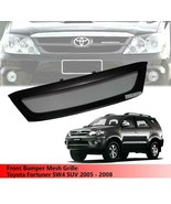 Front Bumper Mesh Grille Grill For Toyota Fortuner SW4 SUV 2005 2006 200... - $121.55