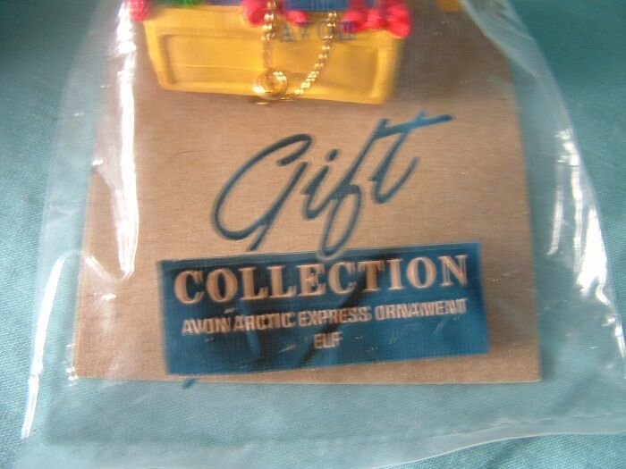 AVON Gift Collection Arctic Express Ornament  Elf - NIP