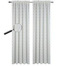 Urbanest 54-inch by 84-inch Napa Set of 2 Sheer Curtain Drapery Panels, Off Whit - $28.70