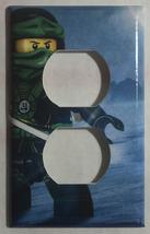 Ninjago Green Lloyd Ninja Light Switch Outlet Wall Cover Plate Home Decor image 2