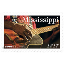 2017 49c Mississippi Statehood, Guitar, 200th Anniversary Scott 5190 Min... - $1.47