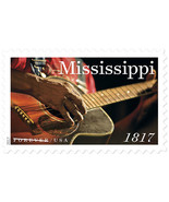 2017 49c Mississippi Statehood, Guitar, 200th Anniversary Scott 5190 Min... - $1.47