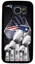 New England Patriots Superbowl Phone Case For Samsung Galaxy S3 S4 S5 S6 S7 S8 - $3.95+