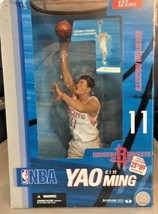 "McFarlane Sportspicks NBA 12"" Yao Ming Houston Rockets White Jersey 2006 - $19.79"