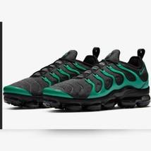 Nike Men's Air Vapormax Plus Black Clear Emerald Cool Gray Sneaker Size 8 US - $266.48