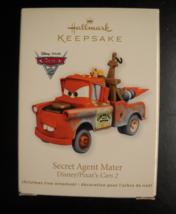 Hallmark Keepsake Christmas Ornament 2011 Secret Agent Mater Disney Pixa... - $10.99