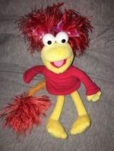 Fraggle Rock Red Plush Doll Jim Henson Sababa Toys 12 inch 2003 - $22.76