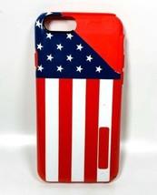 Incipio Dualpro Serie Dual Layer Custodia Per IPHONE 6 - USA Bandiera/Rosso - $8.91