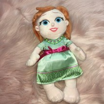 "Disney Babies Frozen Princess Anna 12"" Plush Doll - $9.75"