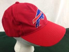 Vtg Red Buffalo Bills Snapback Hat Team Nfl - $18.65