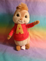 2009 TY Alvin and the Chipmunks Alvin Beanie Baby Plush Doll - $4.90