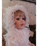 1989 FayZah Spanos Limited Edition 98/100 Porcelain Doll CANDY hand signed - $197.01