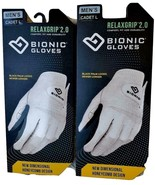 (2) Bionic Relax 2.0 Golf Gloves, All Sizes Within - $19.99