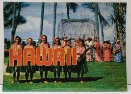 3D Lenticular Vintage Hawaii KODAK HULA SHOW Visitors Fave 1960's  Postcard B26 - $23.95