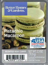 Pistachio Macaroon Better Homes and Gardens Scented Wax Cubes Tarts Melts - $3.75