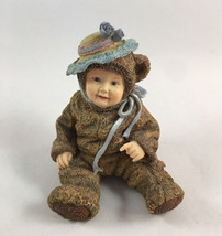 Anne Geddes Enesco Figurine Babies Are Such a Nice Way To Start People 1998 - $12.38