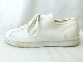 80S Vintage Converse Jaku Purcell Usa White 9 Men 8.5US - $852.11