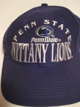Vintage Ncaa Penn State Nittany Lions Cap One Fits All Snapback Blue 251 - $14.43
