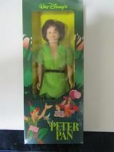 """Vintage 12"""" Walt Disney Peter Pan Figure New In Sealed Box !! - $44.50"""
