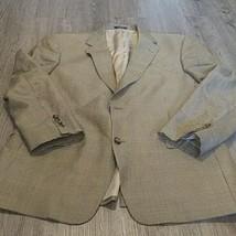 HART SCHAFFNER MARX 1887 Men's Blaze 2 Button 43R Sport Coat Made in Usa - $30.37