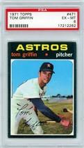 1971 Topps Tom Griffin #471 PSA 6 P878 - $7.85