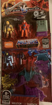 Masters of the Universe He-Man Vs Beast Man Construction Set & Skeletor&... - $23.27