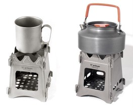 Barbecue Portable Stove Ultralight Titanium Wood Burning Stove Easily As... - €30,52 EUR