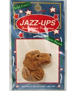 FREEBIE Jazz-Ups Golden Retriever Dog Flatback - $0.00