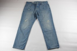 GAP 1969 Sexy Boyfriend Destroyed Patched-up Jeans Size 30R - $14.36