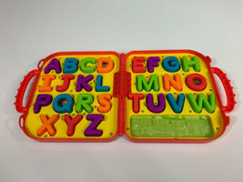Sesame Street Elmo's On the Go Letters ABC Carry Case Alphabet Complete ... - $29.70