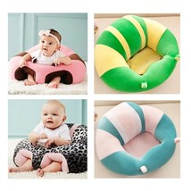 Baby Support Seat Plush Soft Baby Sofa Infant Learning To Sit Chair Keep... - $33.29