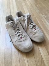 Reebok Women's Sneakers Size 11  Pink Suede Lace Up Walking Shoes - $14.03