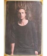 Robert Pattinson Striped Shirt Portrait Vinyl Poster 23.5 X 35.5 Twiligh... - $11.25
