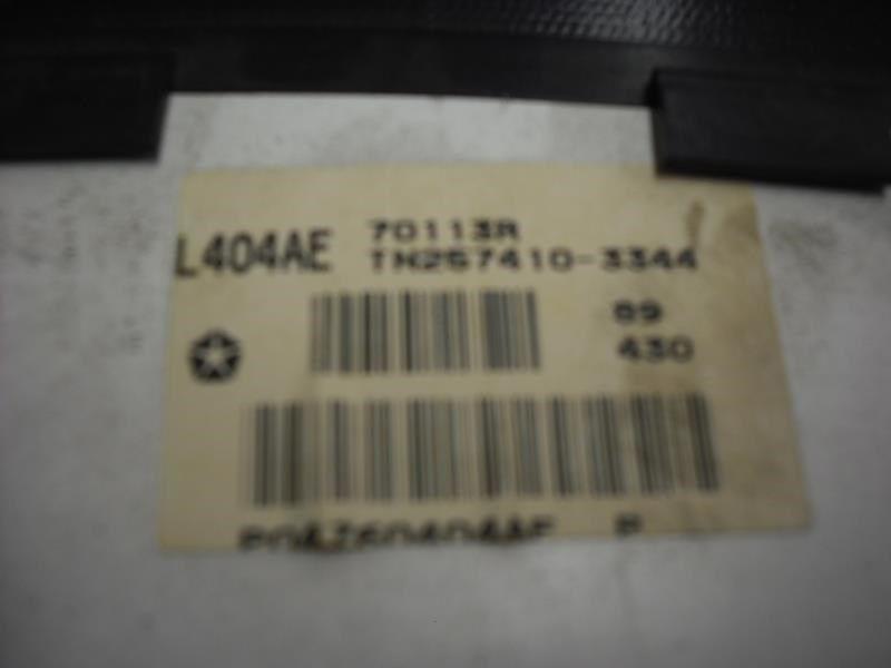 99 00 01 CHRYSLER LHS SPEEDOMETER CLUSTER US MKT MPH 23324