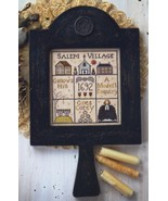 Salem Hornbook sampler cross stitch chart Plum Street Samplers  - $8.55