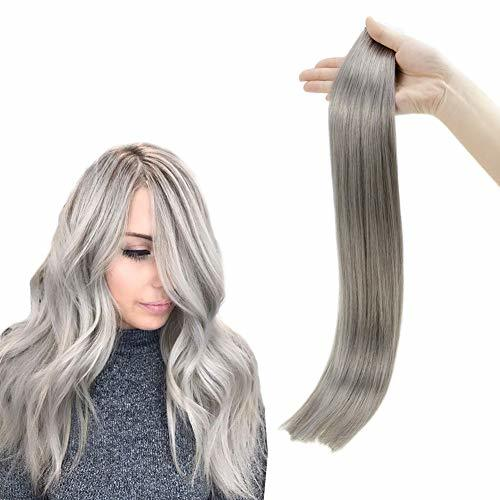 RUNATURE Hair Extensions Tape In Real Hair Seamless Tape In Extensions 20 Inches