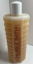Vintage Avon Bubble Bath NOS Vanilla Cream for Dry Skin 24 ounces New Old Stock - $14.03