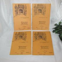 ELEMENTARY MECHANICS VINTAGE INTERNATIONAL CORRESPONDENCE SCHOOL HOME ST... - $17.32