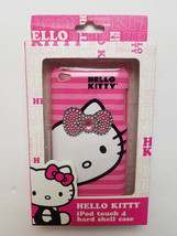 NEW Hello Kitty IPod Touch 4 Hard Shell Case with Rhinestones Pink - $4.99